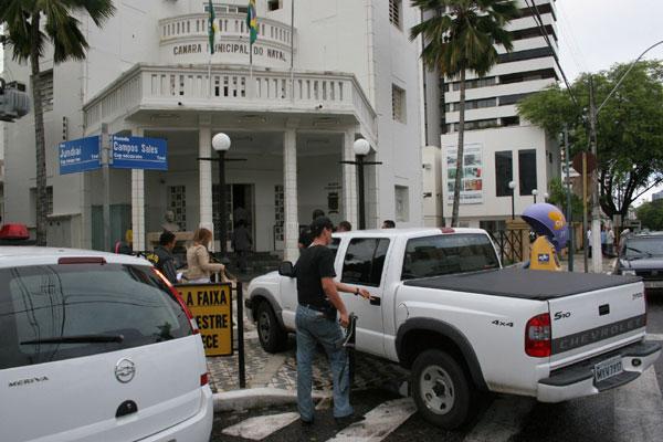 Policiais e integrantes do Ministério Público cumpriram, em 2007, mandados de busca na Câmara