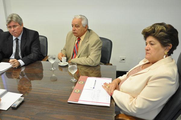 Cúpula do Tribunal de Justiça concedeu entrevista exclusiva ontem à TRIBUNA DO NORTE