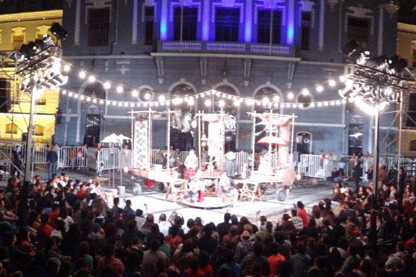 Os teatreiros potiguares fizeram dez apresentações no Chile.
