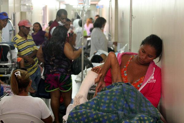 Pacientes foram transferidos para outros hospitais
