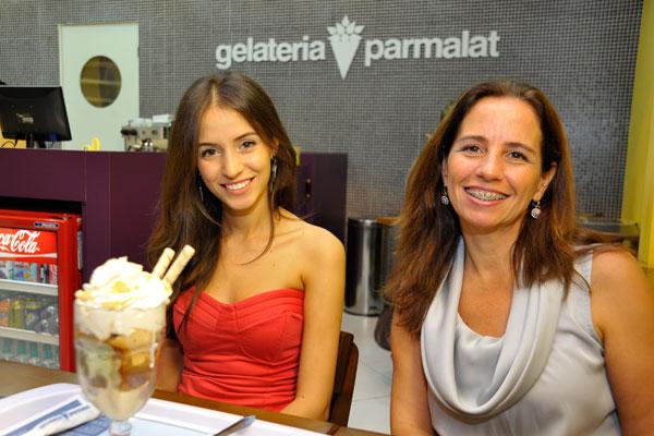 Amanda e Márcia Bones são as franqueadas da gelateria