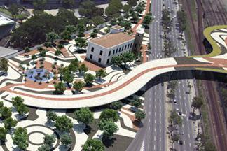 A revitalização do Maracanã, palco da final da Copa do Mundo de 2014, inclui a construção de duas amplas passarelas