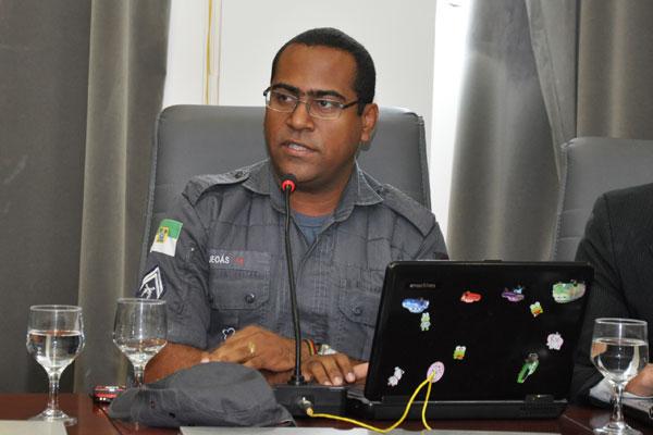 Jeoás Nascimento dos Santos participou de tentativas de negociações da PM baiana com o Governo