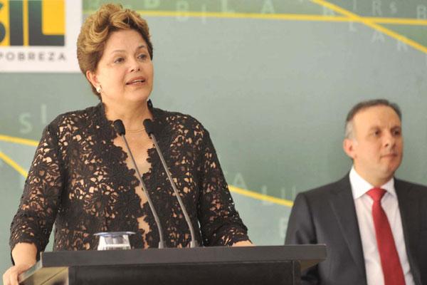 Dilma:  parcerias para implementar obras estruturantes até 2014
