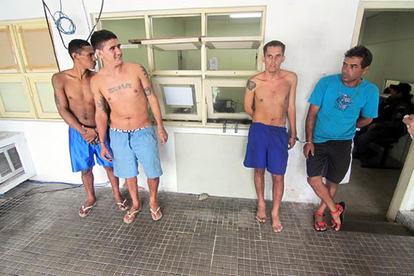 Polícia conseguiu recapturar cinco dos fugitivos do CDP da Ribeira nesta terça