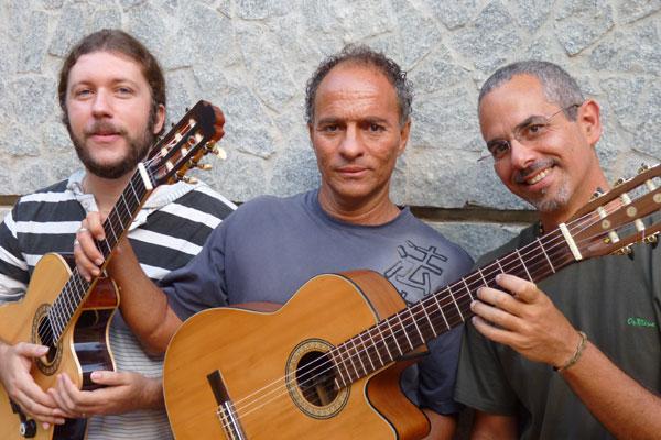 Jow Jow, Cacau Vasconcelos e Roberto Taufic: reencontro e novos sons