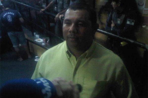 Lenilson dos Santos, presidente da Império do Vale, declarou estar muito feliz por ter voltado ao grupo especial.