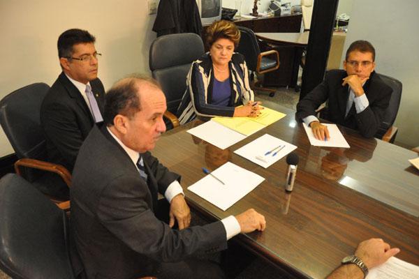 A presidente do TJ, Judite Nunes apresentou projeto ontem