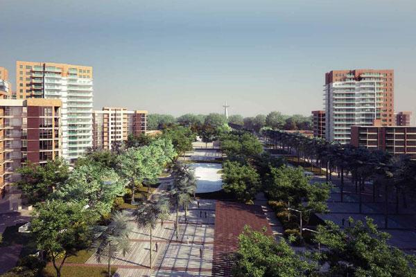 Imagem de como ficará o Complexo: a previsão é que a primeira etapa do empreendimento seja concluída até a Copa de 2014