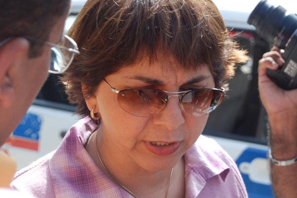 Cristiane Magalhães, delegada da Especializada na Defesa e Amparo da Mulher