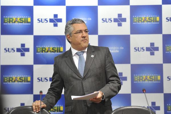 Ministro Alexandre Padilha: avaliação é fundamental para avanços