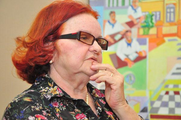 Isaura Rosado, secretária Extraordinária de Cultura
