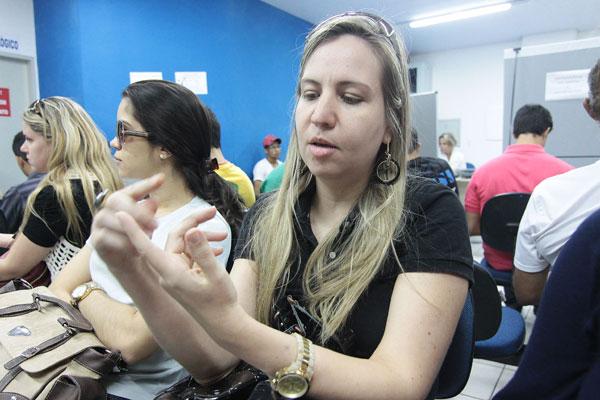 Lucyana Campos já perdeu o prazo da renovação devido à espera