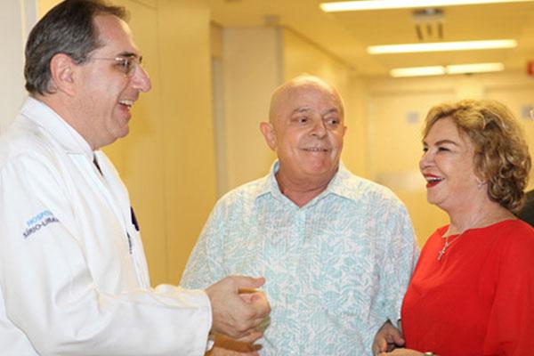 Decisão da equipe do hospital Sírio-Libanês conta com aval da ex-primeira-dama Marísia Letícia