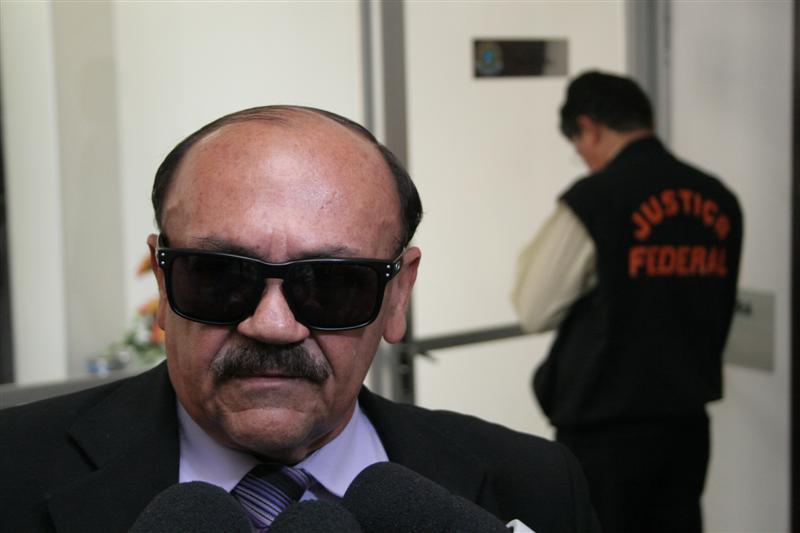 O delegado Matias Laurentino foi a primeira testemunha de acusação a ser ouvida