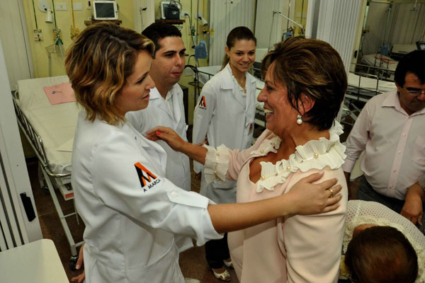 Rosalba Ciarlini lembra que construção de Hospital da Mulher em Mossoró era um sonho antigo