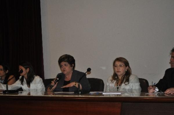 Presidente do TJ, desembargadora Judite Nunes presidiu reunião