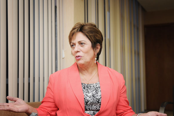 Rosalba Ciarlini, governadora do estado