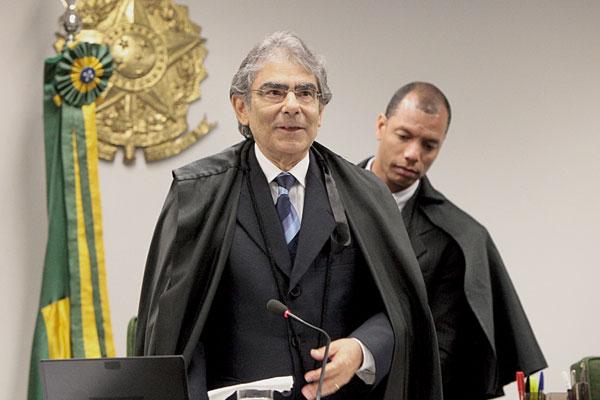 Britto foi o relator do processo da união estável de homossexuais