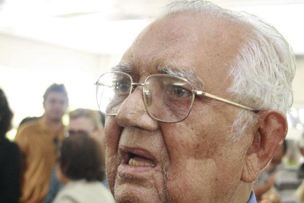 Além de ex-prefeito, Ernani da Silveira também foi presidente do ABC, seu clube de coração