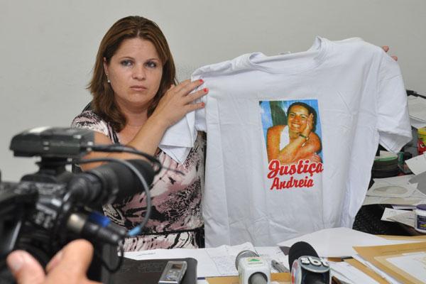 Priscilla Rodrigues, irmã de Andreia Rodrigues: Ela vivia numa espécie de cárcere privado.