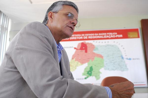 Secretário Domício Arruda diz que não tem orçamento