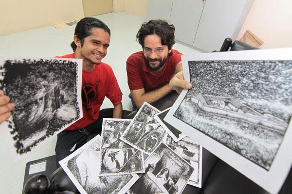 Do coletivo K-Ótica, Marcos Guerra e Leander Moura publicam novas aventuras