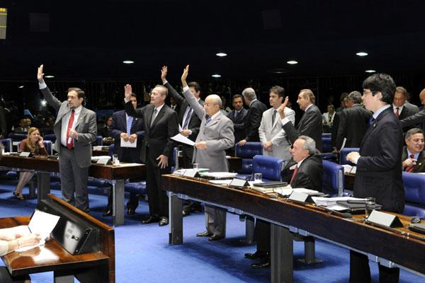 Projeto que institui o regime de previdência complementar foi aprovado em votação simbólica, e por unanimidade, no Senado