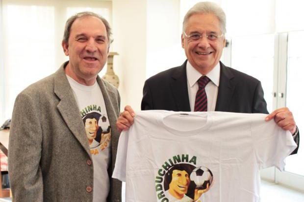 Fernando Henrique encontrou com Osmar Santos para dar seu apoio à campanha