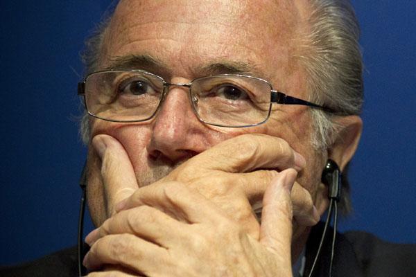 Joseph Blatter voltou a criticar a preparação brasileira para a Copa