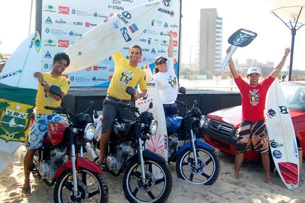 Em 2011 a mesma competição garantiu uma boa premiação para os vencedores das categorias