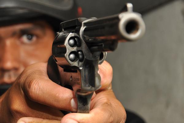 As mortes por arma de fogo predominam nas estatísticas