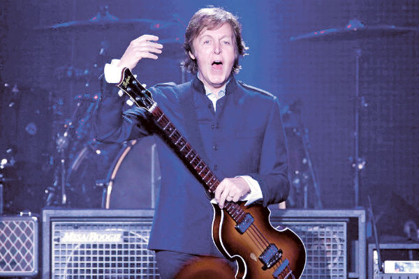 Paul McCartney abre nova turn no Brasil