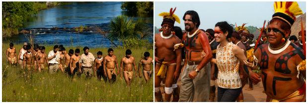 Produção contou com participação de índios do Parque Nacional do Xingu