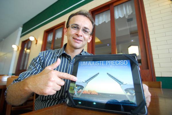 Cleber Viana é monitorado via online, enviando relatórios diários das suas atividades