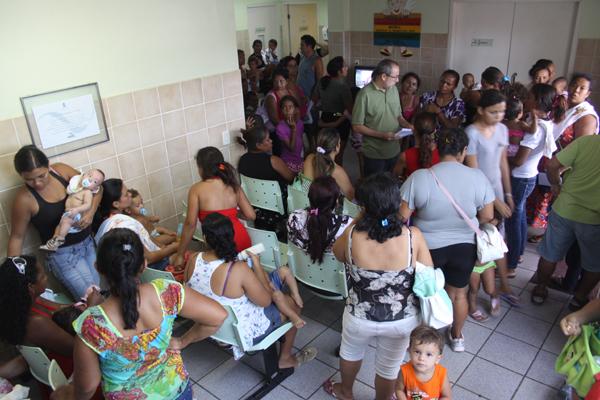No Sandra Celeste movimento de pacientes tem sido intenso