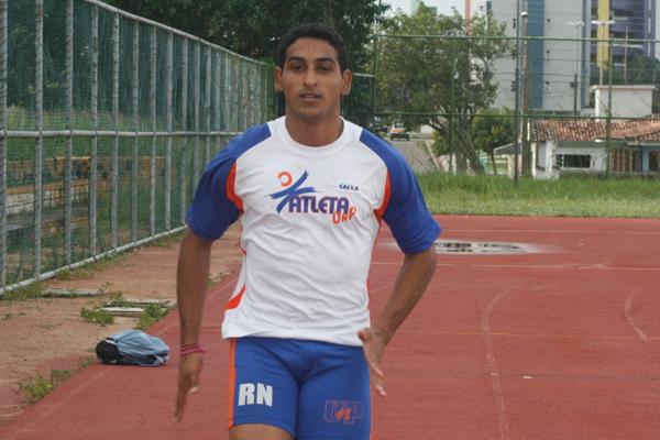 O corredor Diego Cavalcanti mantém a tradição e vai representar o Estado na competição