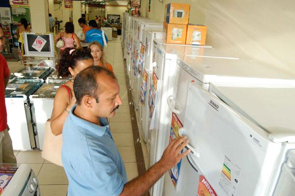 Eletrodomésticos estão entre os produtos que devem puxar as vendas