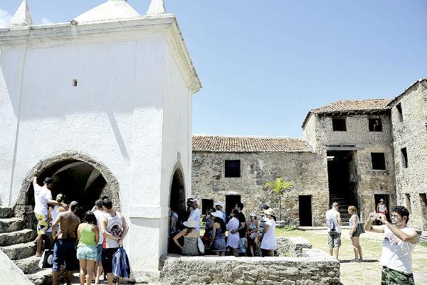 Museu da Fortaleza continua aberto à visitação, mas até ontem apenas duas atividades novas estavam confirmadas