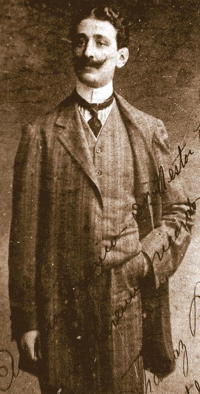 Thomaz Babini, violoncelista italiano radicado em Natal no início do século 20