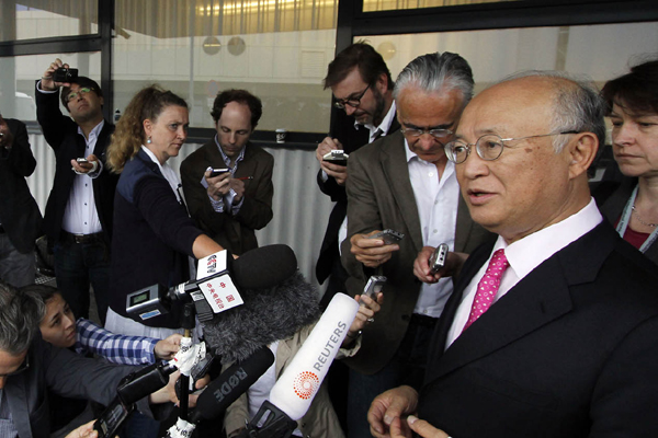 Yukiya Amano admitiu que ainda existem diferenas entre as partes, em alguns detalhes, mas disse acreditar no acordo.