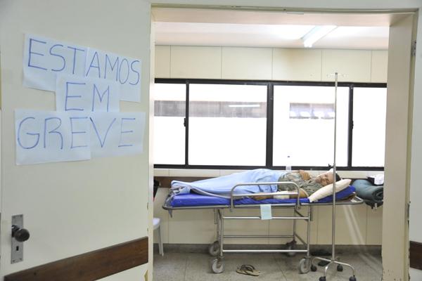 Hospital Walfredo Gurgel, em Natal: o prejuízo à população é o argumento do governo para pedir que os médicos voltem ao trabalho