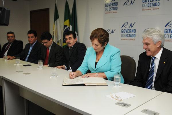 Governadora Rosalba Ciarlini empossou novos auxiliares