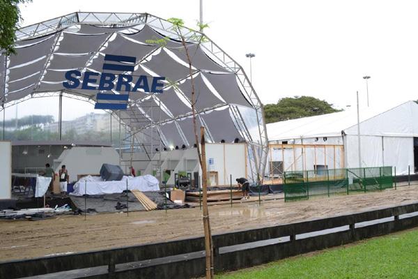 Preparativos para a Rio+20:  A Conferência terá eventos paralelos, como a cúpula dos povos, que ocorrerá no Aterro do Flamengo.