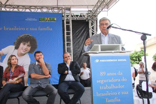 Garibaldi Filho inaugura agência da Previdência Social no município de Bodocó, interior de Pernambuco