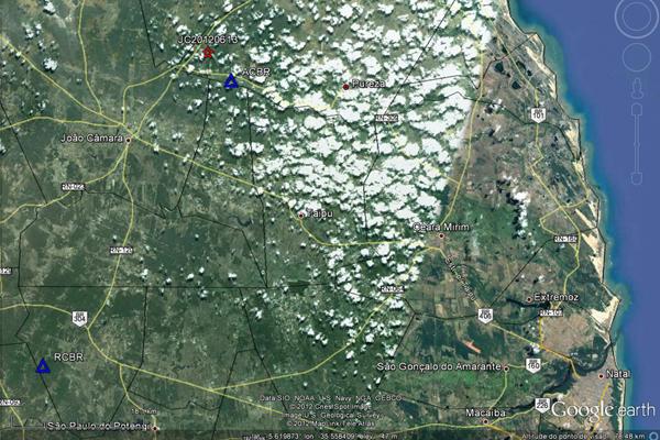 Tremor é registrado em região próxima a João Câmara