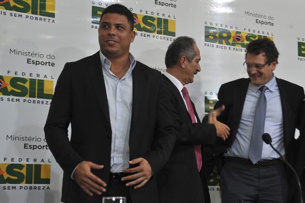 Ronaldo Fenômeno irá acompanhar Jérôme Valcke na viagem