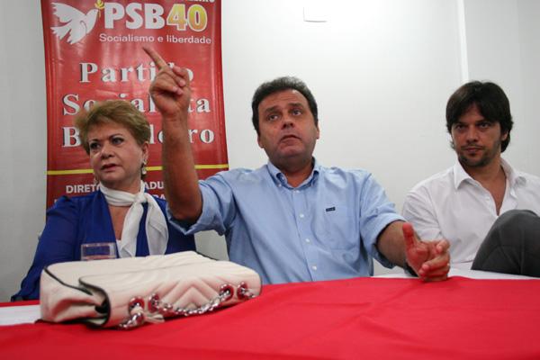 Carlos Eduardo destaca apoio dos partidos aliados para que a ex-governadora Wilma de Faria integre a chapa como candidata a vice