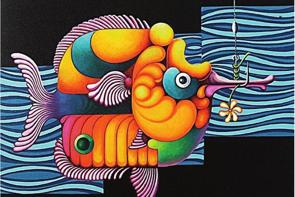 Obra do artista natalense Fábio Eduardo está na exposição
