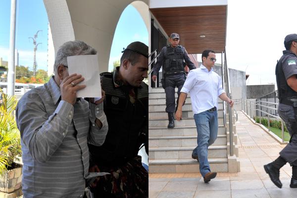 O atual secretário municipal de Finanças, Antônio Luna, teve prisão temporária decretada pela Justiça. O ex-secretário municipal de Saúde, Thiago Trindade, está detido no Comando da Polícia Militar.